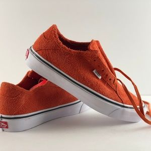 Vans Diamo Ni Hairy Suede Pureed Pump Shoes
